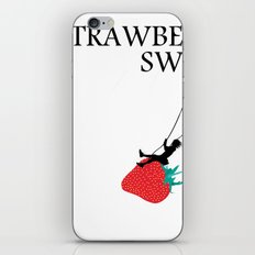 Strawberry Swing iPhone & iPod Skin