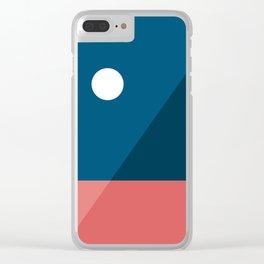Geometric Landscape 06 Clear iPhone Case