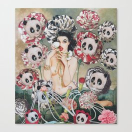 Panda Eye Canvas Print