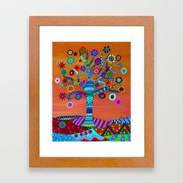 MHURI TREE OF LIFE Framed Art Print