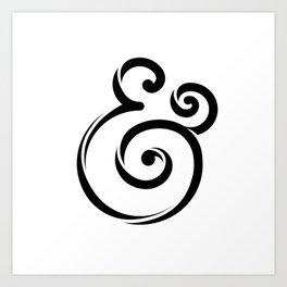 InclusiveKind Ampersand Art Print