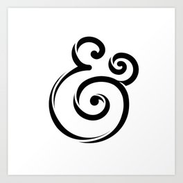 InclusiveKind Ampersand Art Print