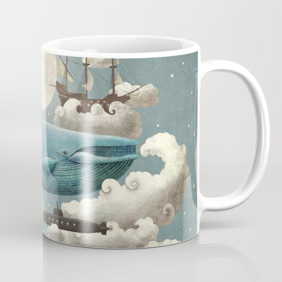 Ocean Meets Sky - colour option Mug