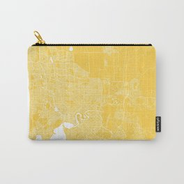 Perth map yellow Carry-All Pouch