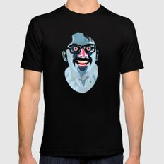 Portrait of Alonso Quijada Mens Fitted Tee SMALL Black