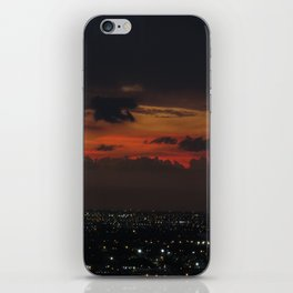 A Sky On Fire iPhone Skin