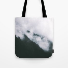 Forest Fog XIII Tote Bag