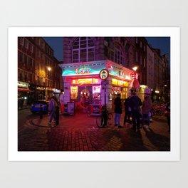London: Diner Art Print