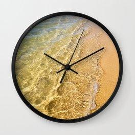 Crystal Clear - Woodgate Beach QLD Wall Clock