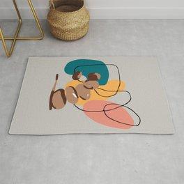 Printable Balancing Stones Wall Art Downloadable Minimalist Print Scandinavian Poster Rug