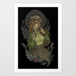 Celtic Punch Art Print