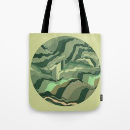 TOPOGRAPHY 005 Tote Bag