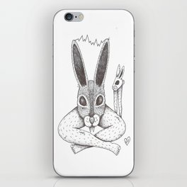 Fluffy Bunny- Shock Therapy iPhone Skin