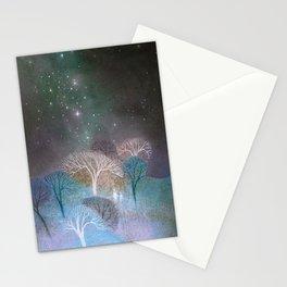 November Night Stationery Cards