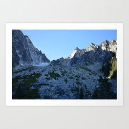 Room with a View - Colchuck Lake, Washington State Art Print