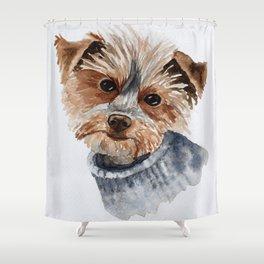 Snuggle up warm. Shower Curtain