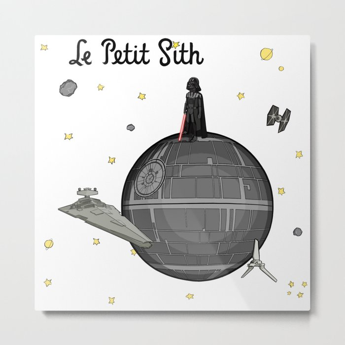 Le Petit Sith Metal Print