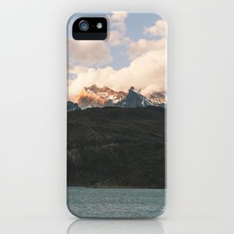 Patagonia Sunset iPhone Case