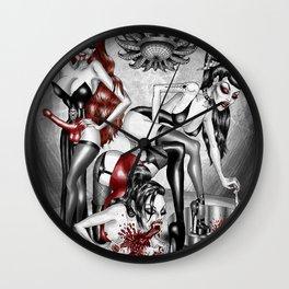 Sensual Carnage Wall Clock