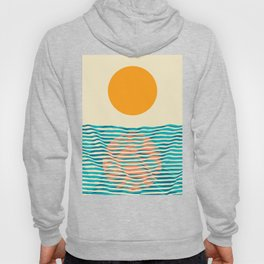 Ocean current Hoody