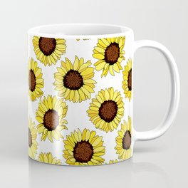 Sunflowers are the New Roses! - White Coffee Mug
