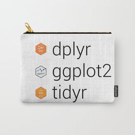 Tidyverse libraries: dplyr, ggplot2, tidyr Carry-All Pouch