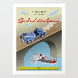 Streamline Design Poster Art Print