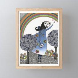 Rainbow Mine (3) Framed Mini Art Print