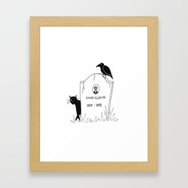 Tombsday Framed Art Print