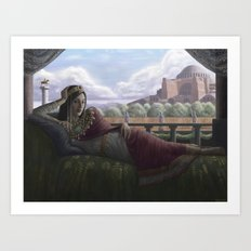 Byzantine Empress Art Print