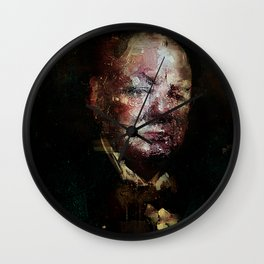 Icon number 8 Wall Clock