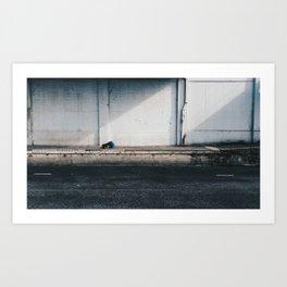 Addiction Blues Art Print