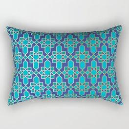Moroccan Tile Pattern Rectangular Pillow