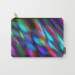 Pleather Plumage Carry-All Pouch