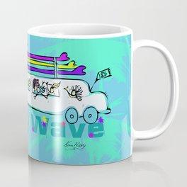 Party Wave Surf Mobile Coffee Mug