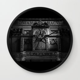 Church Organ Wall Clock