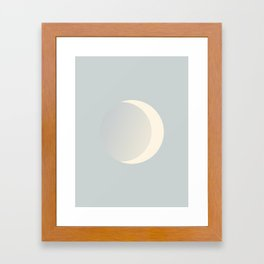 Ethereal Moon Framed Art Print