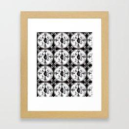 Ankh Anubis Alchemy Framed Art Print