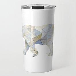 bear paint draw watercolor illustration Travel Mug