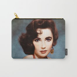 Elizabeth Taylor, Actress Carry-All Pouch