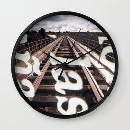 Iron Bridge Wall Clock