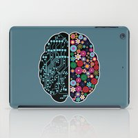 brain iPad Cases featuring Brain by BlueLela