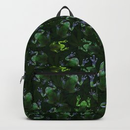 Frogs On Weed Backpack