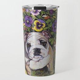 Bulldog Puppy Travel Mug
