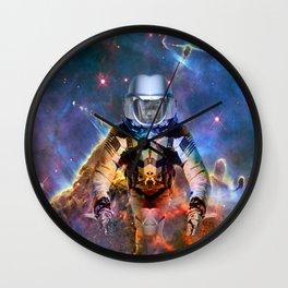 Astronaut Disintegration Wall Clock