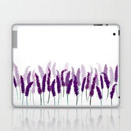 Lavender Field | Purple Flowers in Watercolor Laptop & iPad Skin