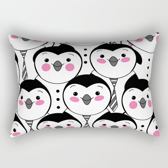 cute penguin Rectangular Pillow