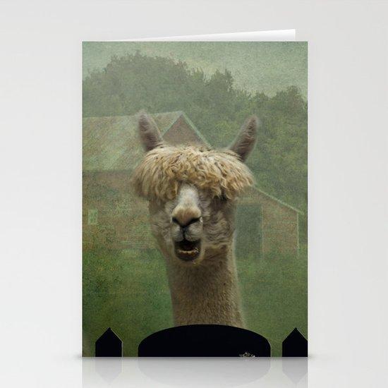 Alpaca Farm Stationery Cards