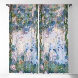 Garlic Lilies Water Lilies Fine Art Parody Blackout Curtain