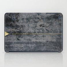 gOld triangle iPad Case